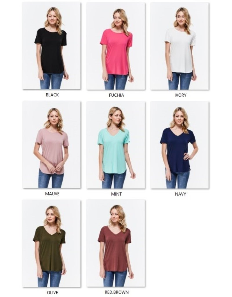 The Must Have Round Neck Tee