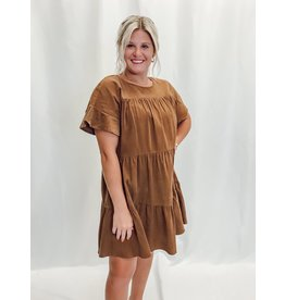 The Libra Corduroy Babydoll Dress