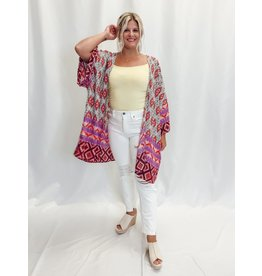 The Vergara Printed Kimono