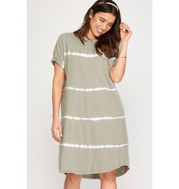 The Susannah Tie Dye T-Shirt Dress