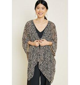 The Love Fiercely Leopard Kimono