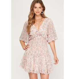 The What Love Is Floral Dress