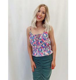 The Wishful Floral Print Top