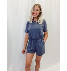 The Twilight Pocketed Romper