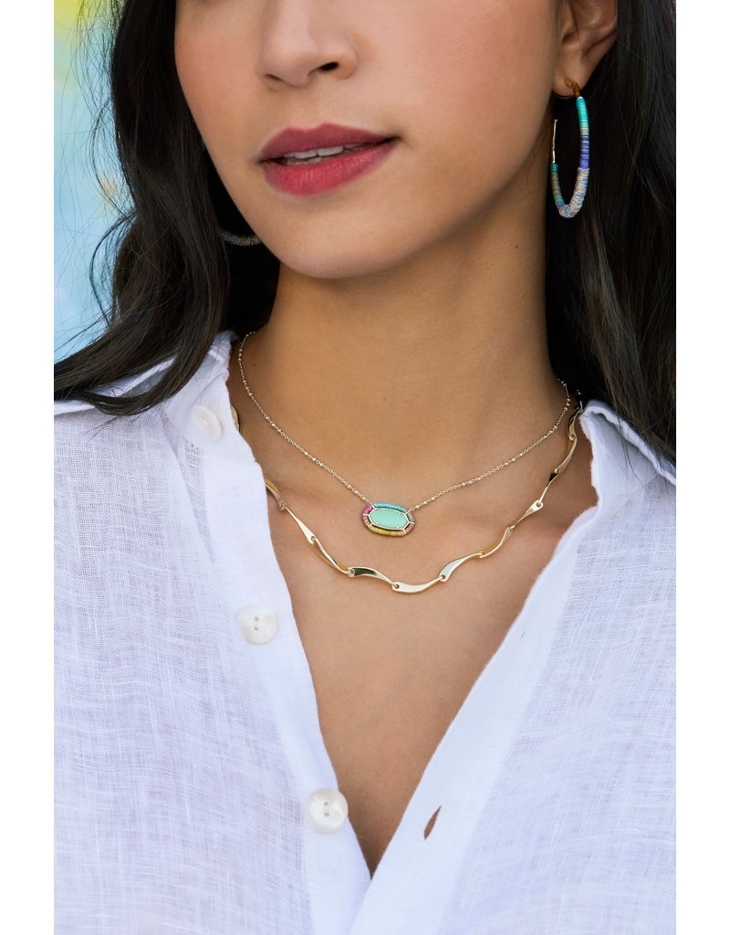 The Threaded Elisa Pendant Necklace