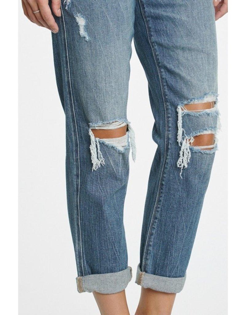 The Darcy Distressed Boyfriend Jeans