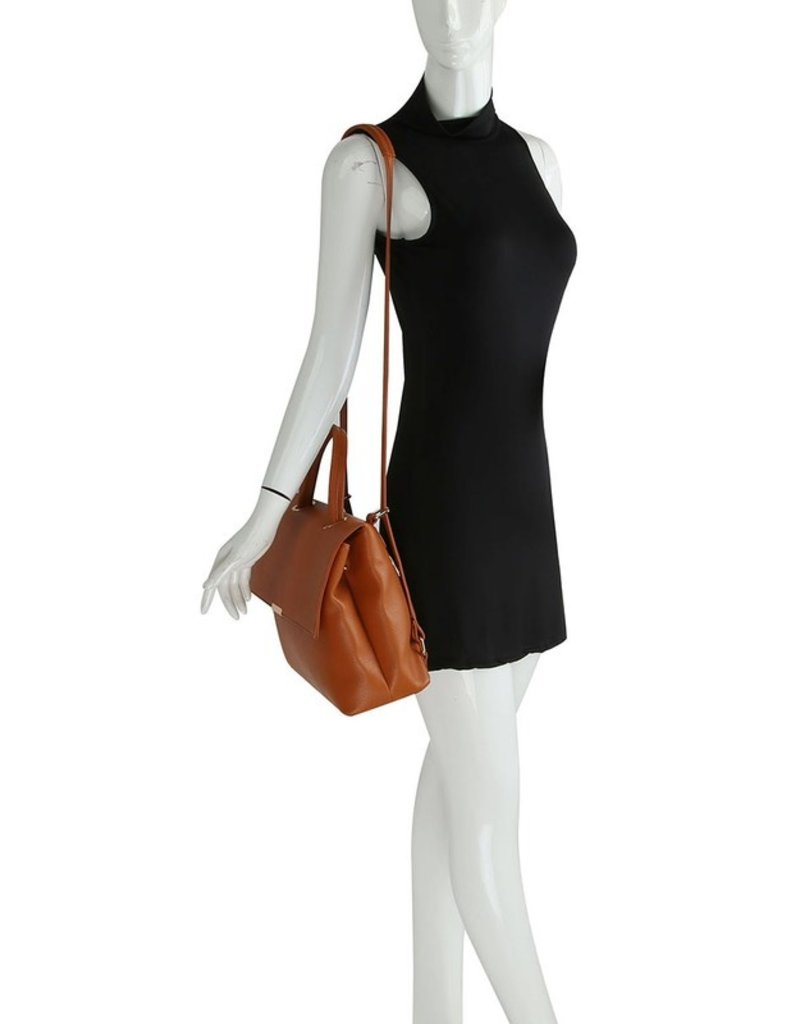 The Teagan Convertible Backpack - Blush