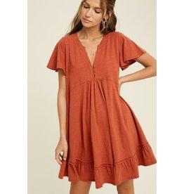The Evanna Babydoll Dress