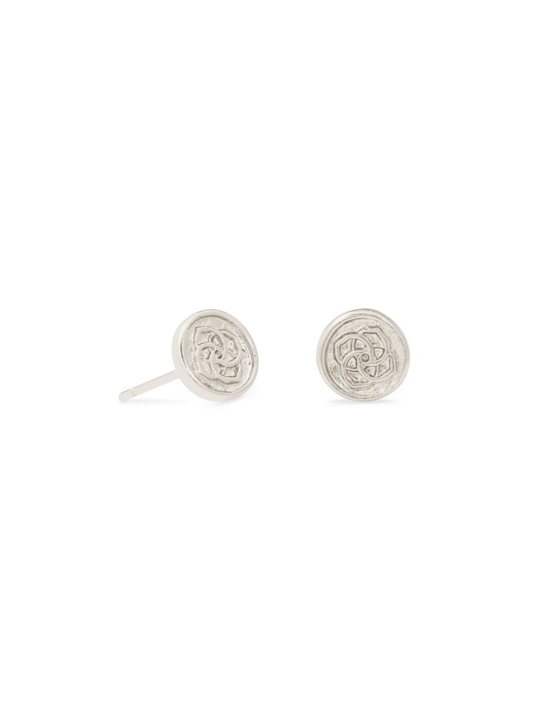 The Dira Coin Stud Earrings