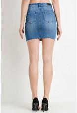 The Lola Denim Mini Skirt