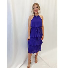 The Only Love Pleated Midi Dress