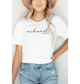 The Midwest Babe Graphic Tee