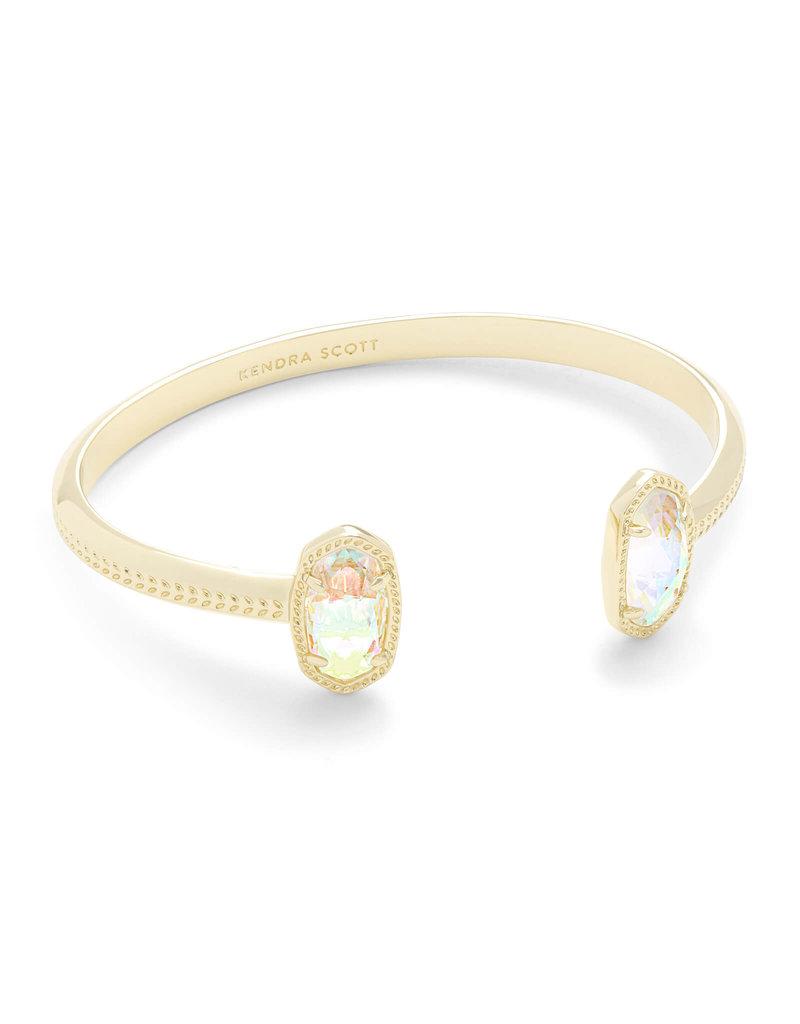 Kendra Scott Elton Cuff Bracelet In Dichroic Glass