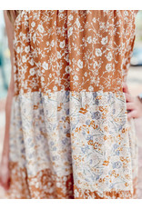 The Fernandez Floral Midi Dress