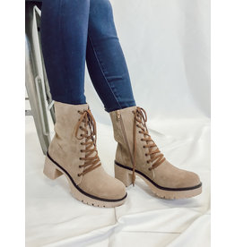 The Jamie Lace Up  Bootie