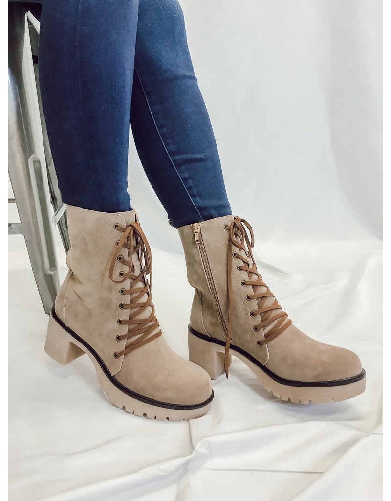 The Jamie Lace Up  Booties