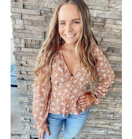 The Naples Floral Top