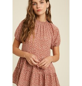 The Found Love Floral Babydoll Top