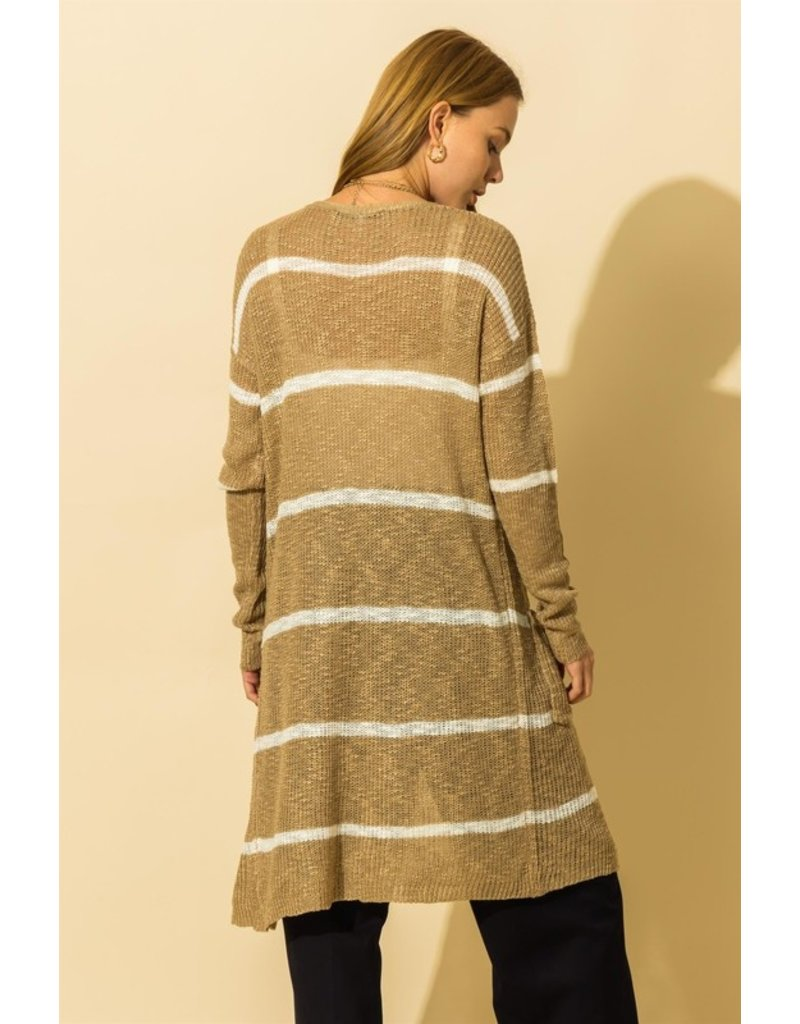 The Free Range Striped Duster Cardigan