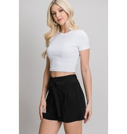 The Marilyn Front Tie Shorts
