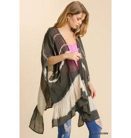 The Creative Tie Dye Kimono