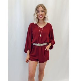The Suzannah Pocketed Romper
