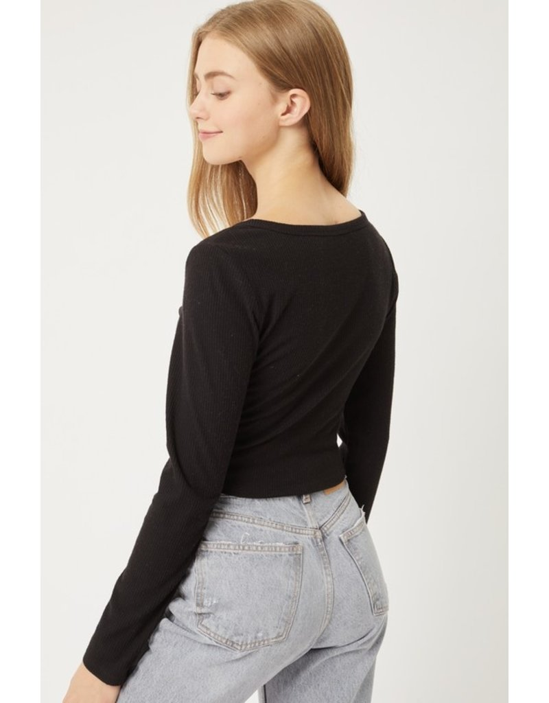 The Dillon Cropped Cardigan