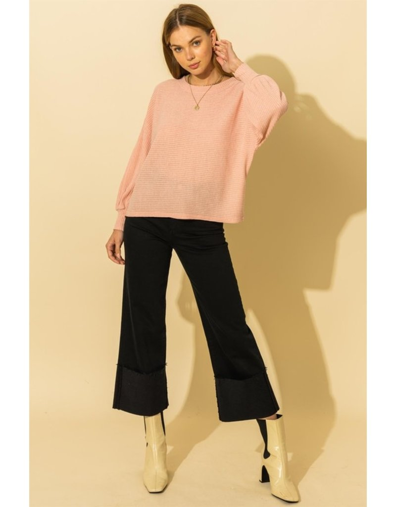 The Drop Everything Long Dolman Sleeve Top