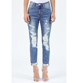 The Priority Distressed Relaxed Fit Skinny
