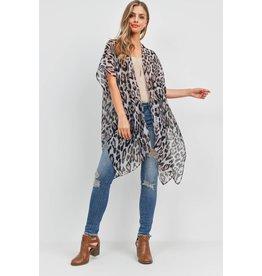 The Tustin Leopard Print Kimono