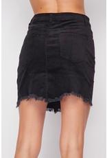 The Eleventh Hour Corduroy Mini Skirt - Black