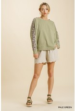 The Liam  Leopard Print Pullover