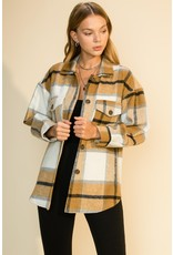 The Plaid About You Shacket