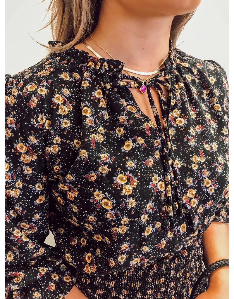 The Raelynn Floral Smocked Dress