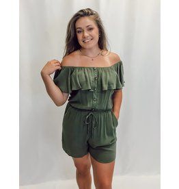 The Everleigh Off The Shoulder Romper