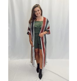 The Long Shot Ombre Duster Cardigan