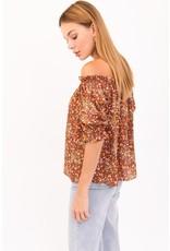 The Kaylie Off The Shoulder Floral Top