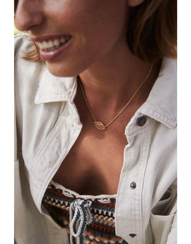 The Baroque Elisa Pendant Necklace