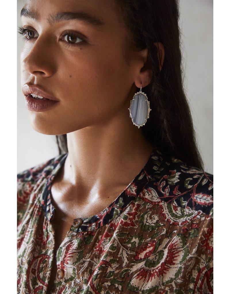 The Baroque Ella Drop Earrings