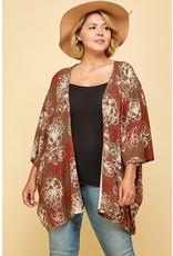 The Cecilia Floral Print Kimono