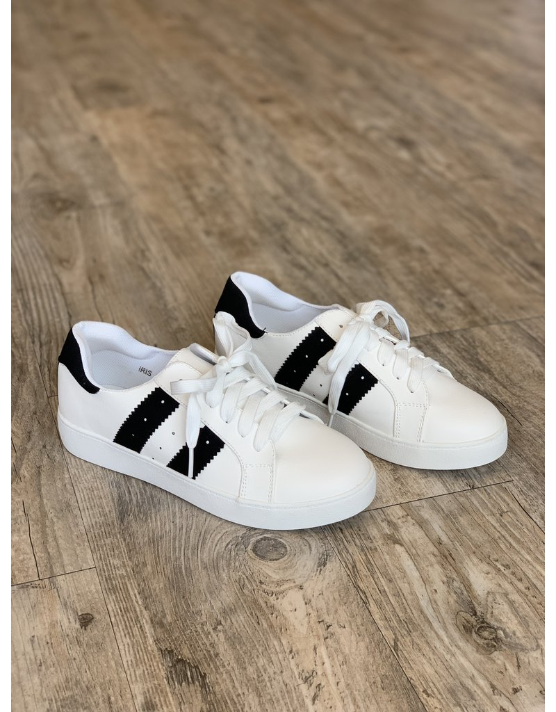 The Iris Lace Up Sneakers