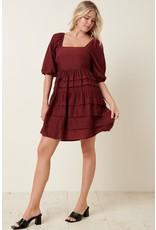 The Awaken Autumn Babydoll Dress