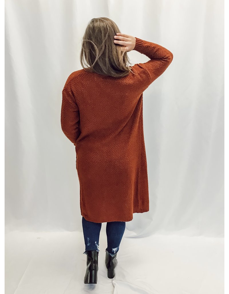 The No Lie Pocketed Cardigan