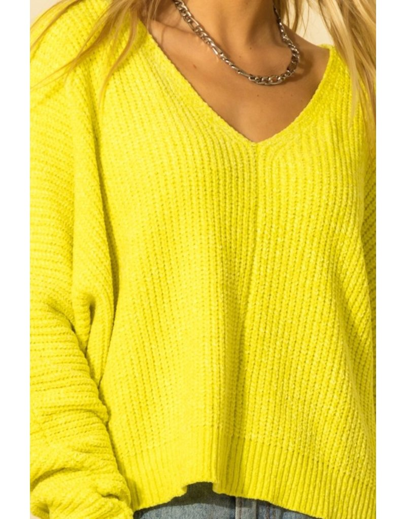 The Allison Chenille Sweater