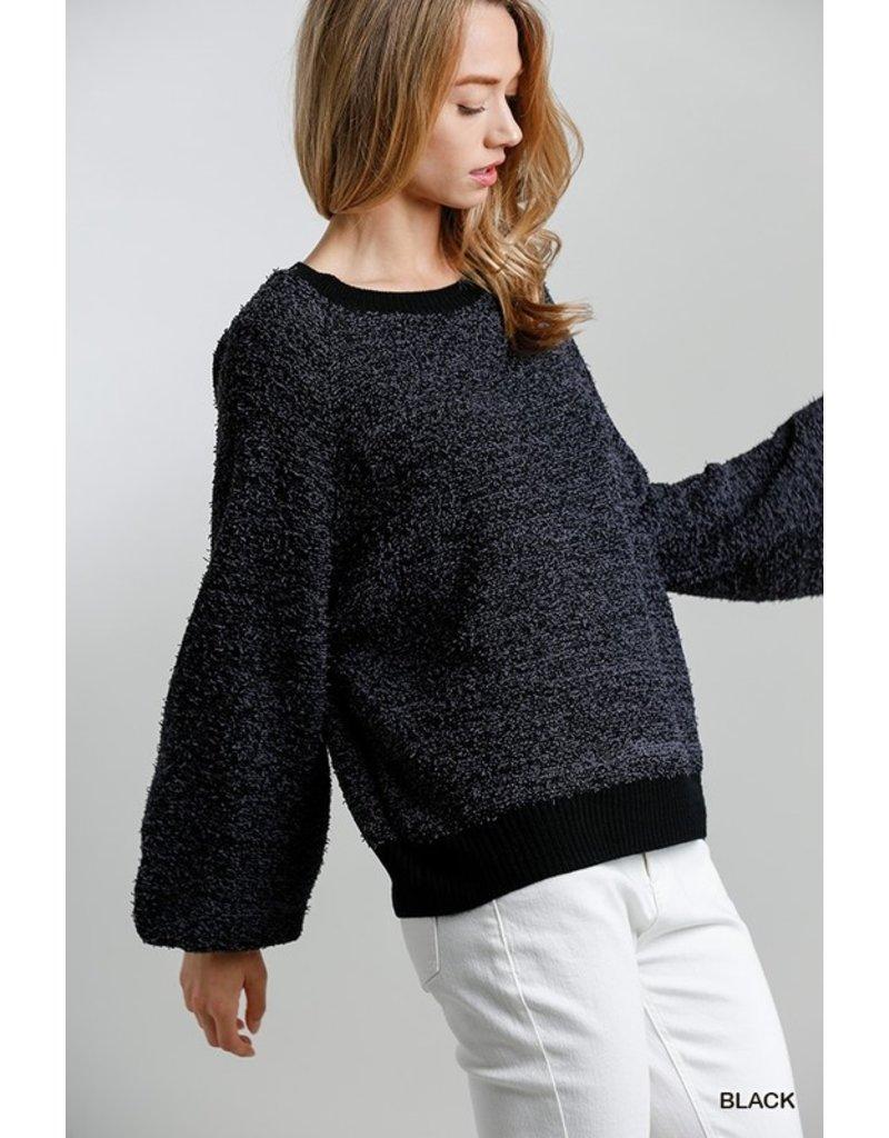 The Marta Balloon Sleeve Sweater