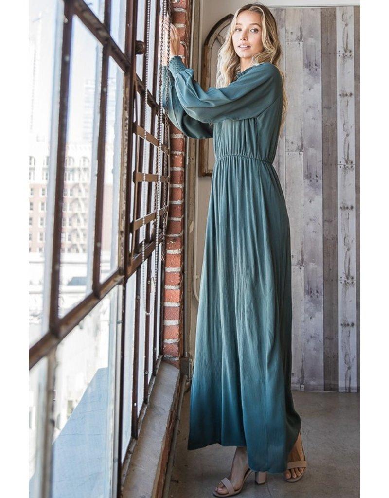 The Mon Amour Long Sleeve Maxi Dress