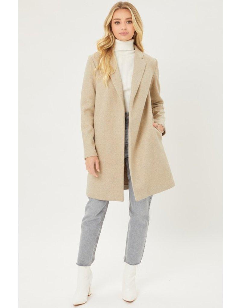 The Venice Pocketed Fleece Coat
