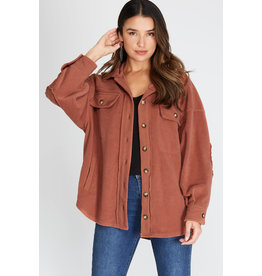 The Cozy Up Pocketed Shacket