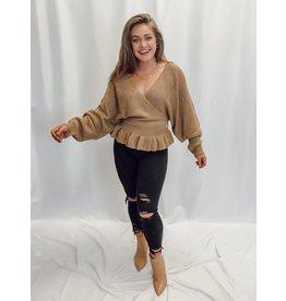 The Mccarthy Peplum Sweater