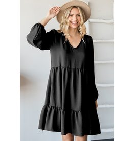 The Jules Tiered Babydoll Dress